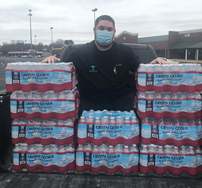 Chiropractor Birmingham AL Troy Lofton And The Water Donation